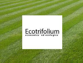 prato a rotoli Ecotrifolium a bassa manutenzione