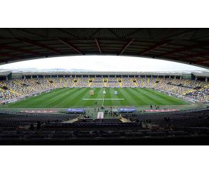 campo udinese calcio con tappeto erboso realizzato da paradello