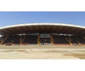 costruzione campo udinese calcio