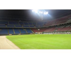 terreno erboso realizzato da paradello per stadio san siro